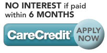 CareCredit - No interest if paid within 6 months